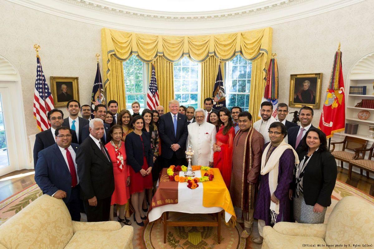 Prime Auto Group >> President Trump celebrates Diwali by lighting 'diya' in ...